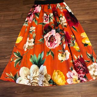 ドルチェアンドガッバーナ(DOLCE&GABBANA)のドルガバ スカート(ロングスカート)