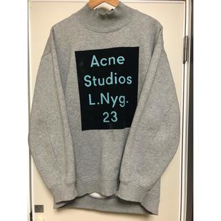 アクネ(ACNE)のAcne Studios スウェット トレーナー グレー(スウェット)