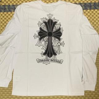 クロムハーツ(Chrome Hearts)のクロムハーツ Tシャツ ロンT 新品未使用 (値下げ済み)残り3枚白Mサイズのみ(Tシャツ/カットソー(七分/長袖))