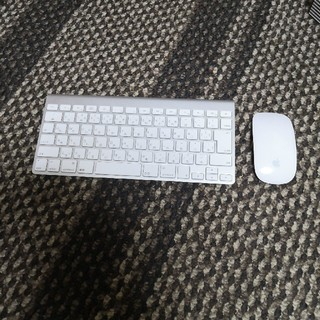 マック(Mac (Apple))のapple キーボード、マウス 中古(PC周辺機器)