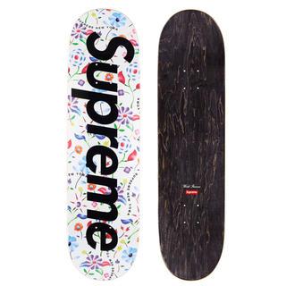 シュプリーム(Supreme)のSupreme 19SS Floral Skateboard White(スケートボード)