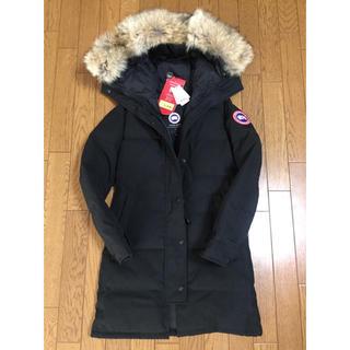 カナダグース(CANADA GOOSE)の新品 未使用 カナダグース マッケンジー ブラックS ダウン コート ジャケット(ダウンジャケット)
