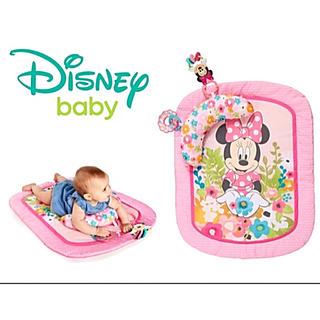 ディズニー(Disney)の❤️ 輸入品ミニーマウスのビーズチェイサーラトル付プロップマット即購入可お値下げ(その他)