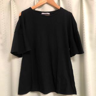 アメリヴィンテージ(Ameri VINTAGE)のHELK オフショル Tシャツ(Tシャツ(半袖/袖なし))