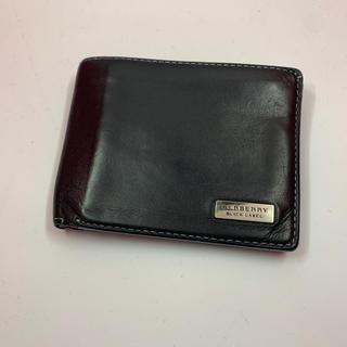 バーバリーブラックレーベル(BURBERRY BLACK LABEL)のバーバリー 財布(折り財布)