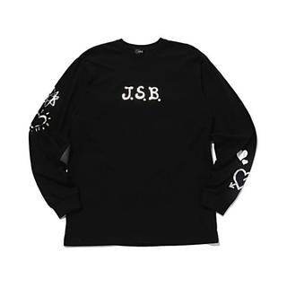 サンダイメジェイソウルブラザーズ(三代目 J Soul Brothers)のJ.S.B.LOVE ロングTシャツ Silver   L  (カットソー(長袖/七分))