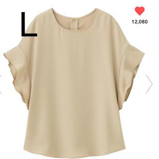 ジーユー(GU)の新品完売♡フレアスリーブブラウス(シャツ/ブラウス(半袖/袖なし))