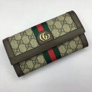 0c3eed3407ab Gucci - GUCCI 二つ折り財布 の通販|ラクマ