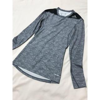 アディダス(adidas)のアディダス  ロンT グレー(Tシャツ(長袖/七分))