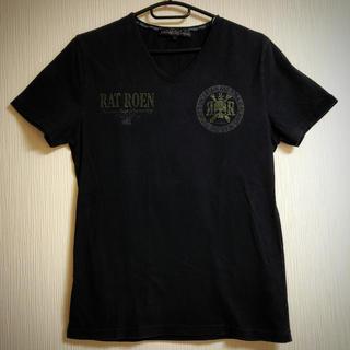 ロエン(Roen)のRAT ROEN  半袖Tシャツ  スカル  スタッズ(Tシャツ/カットソー(半袖/袖なし))