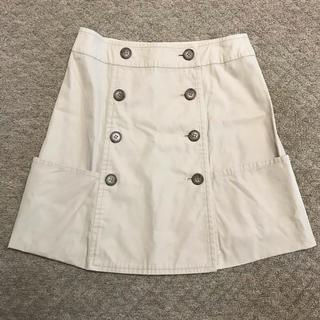 ジェーンマープル(JaneMarple)のJane Marple Dans Le Salon トレンチスカート(ミニスカート)