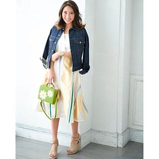 チェスティ(Chesty)の完売 美品 チェスティ スカラップ  フレア スカート 0(ロングスカート)