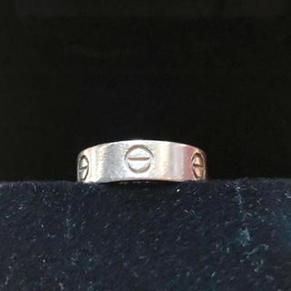 カルティエ(Cartier)のカルティエ PT950 ラブリング (リング(指輪))