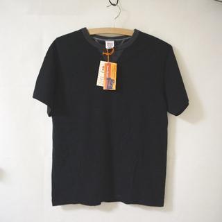 バーンズアウトフィッターズ(Barns OUTFITTERS)のBarns フラットシーマー 両Vガゼット クルーネック Tシャツ(Tシャツ/カットソー(半袖/袖なし))
