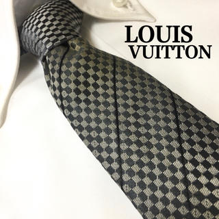 ルイヴィトン(LOUIS VUITTON)のLOUIS VUITTON ルイヴィトン 高級シルク100% ネクタイ(ネクタイ)