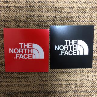 ザノースフェイス(THE NORTH FACE)のTHE NORTH FACE ステッカー2枚セット(ステッカー)