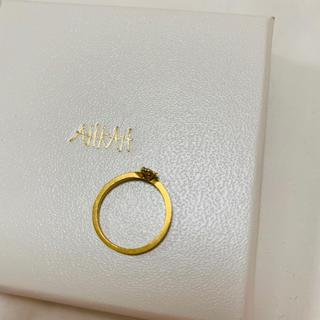 アーカー(AHKAH)のアーカー リング 一粒ダイヤ(リング(指輪))