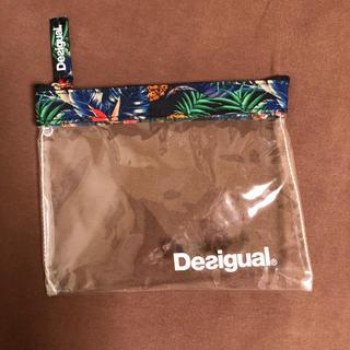 デシグアル(DESIGUAL)のデシグアル ビニールポーチ(ポーチ)