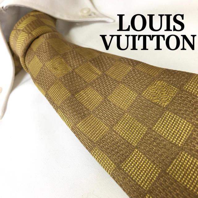 LOUIS VUITTON(ルイヴィトン)のLOUIS VUITTON ルイヴィトン シルク100% ネクタイ メンズのファッション小物(ネクタイ)の商品写真