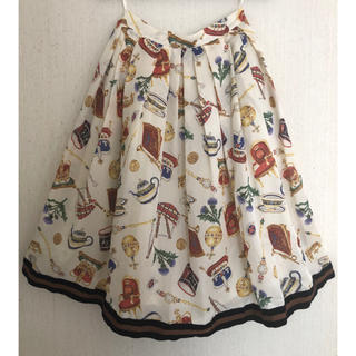 ジェーンマープル(JaneMarple)のJane Marple ロイヤルワラントスカート(ひざ丈スカート)