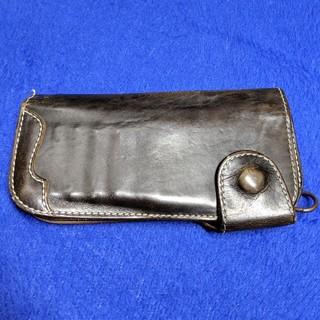 1724a5651aa6 アヴィレックス(AVIREX)のAVIREXアヴィレックス レザー財布(長財布)