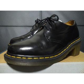 ドクターマーチン(Dr.Martens)の【専用】Dr.Martens AMORY UK4 黒 厚底 3ホール   (ローファー/革靴)