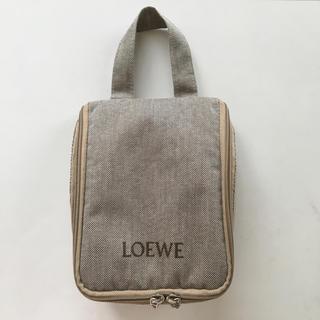 ロエベ(LOEWE)のJALアメニティ LOEWE ポーチのみ(旅行用品)
