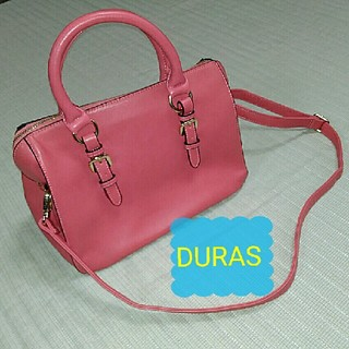 デュラス(DURAS)のショルダーバッグ ピンク(ショルダーバッグ)