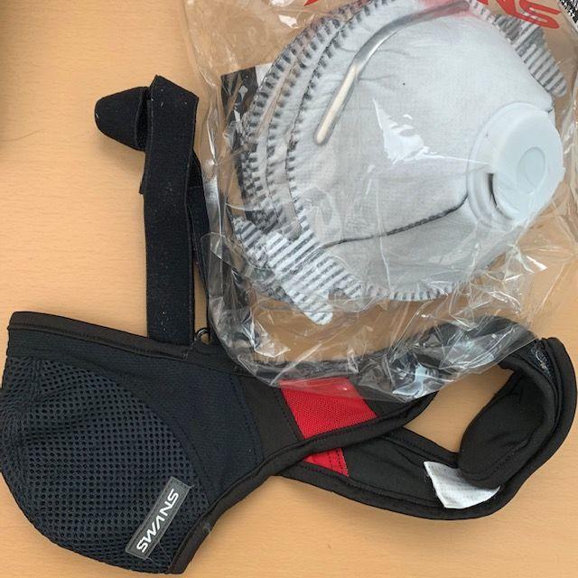SWANS(スワンズ)のスワンズ SWANS スポーツマスク 交換用フィルター付き スポーツ/アウトドアの自転車(ウエア)の商品写真