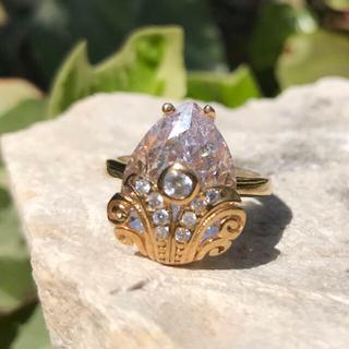 ホワイトジルコン リング(リング(指輪))