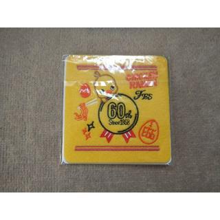 ニッシンショクヒン(日清食品)のチキンラーメン60周年記念ひよこちゃんコースター(テーブル用品)