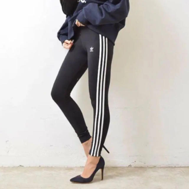 adidas(アディダス)の【タイムセール☆早い者勝ち】アディダスオリジナルス adidasレギンスタイツ レディースのレッグウェア(レギンス/スパッツ)の商品写真