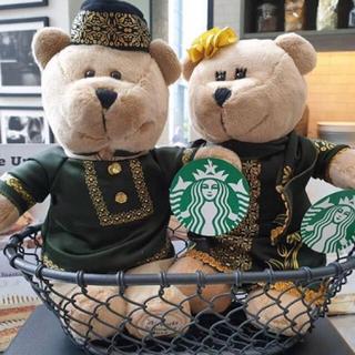 スターバックスコーヒー(Starbucks Coffee)の海外限定  スターバックス  インドネシア ラマダン ベアリスタ ガール ボーイ(ぬいぐるみ)