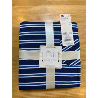 ジーユー(GU)のパジャマ  男の子  120  ルームウェア 新品 半袖(パジャマ)
