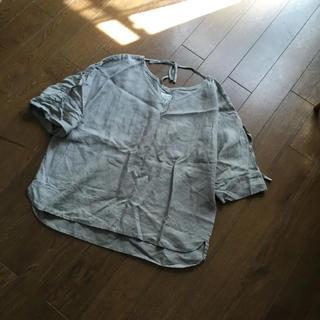 ハグオーワー(Hug O War)のハグオーワー CLOTH&CROSS リネンプルオーバーシャツ(シャツ/ブラウス(半袖/袖なし))