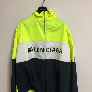 バレンシアガ(Balenciaga)の[19SS] BALENCIAGA ロゴ入り トラックスーツジャケット(ナイロンジャケット)