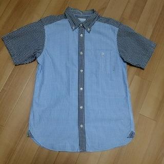 コロンビア(Columbia)のコロンビア Columbia チェック 配色切替半袖シャツ(Tシャツ/カットソー(半袖/袖なし))
