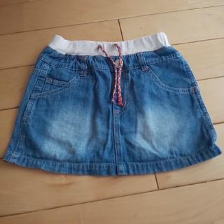ブリーズ(BREEZE)のBREEZE デニムスカート110(スカート)