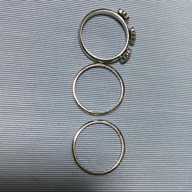 PonteVecchio(ポンテヴェキオ)のポンテヴェキオ 三連リング レディースのアクセサリー(リング(指輪))の商品写真