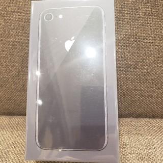 アイフォーン(iPhone)のiPhone8 black softbank (スマートフォン本体)