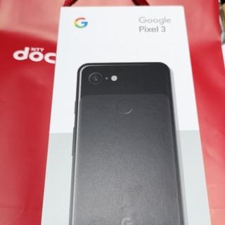 エヌティティドコモ(NTTdocomo)のドコモ google pixel3 黒64GB 新品未使用(スマートフォン本体)