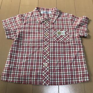 ファミリア(familiar)のふわりちゃん様専用 ファミリア 100㎝ 男の子用 半袖シャツ(ブラウス)