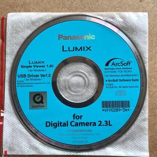 パナソニック(Panasonic)の純正品パナソニックデジタルカメラDMC-FX9 CD-ROMソフト(コンパクトデジタルカメラ)