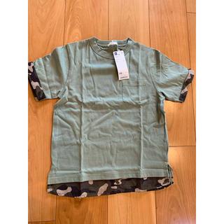 ジーユー(GU)のGU  Tシャツ  120  男の子  半袖 新品(Tシャツ/カットソー)