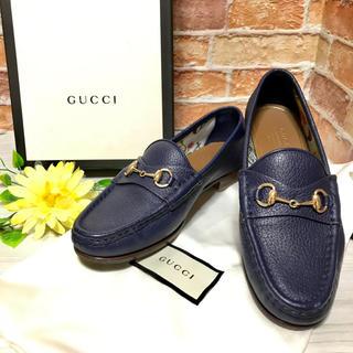 グッチ(Gucci)の【GUCCI】★新品級 グッチ ホースビット 21.0cm レディース 希少(ローファー/革靴)
