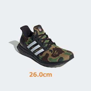 アディダス(adidas)の26cm Adidas Ultra Boost 4.0 Bape Camo(スニーカー)