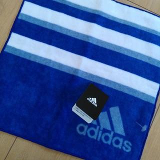 adidas - adidas タオルハンカチ 新品 アディダス ハンカチ