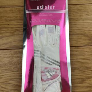 アディダス(adidas)の新品!アディダスゴルフグローブ(手袋)