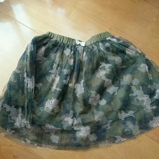 ユニカ(UNICA)の迷彩柄 レーススカート(スカート)