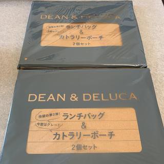 ディーンアンドデルーカ(DEAN & DELUCA)のマリソル 5月号付録 DEAN & DELUCA ランチバッグ&ポーチ 2個(ポーチ)